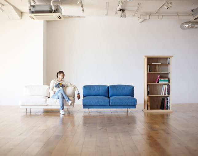 interior & furniture CLASKA Bread Sofaの写真