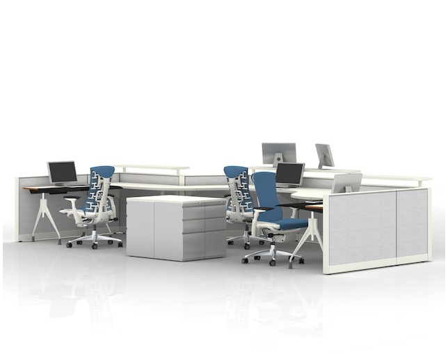 Herman Miller Envelop Deskのメイン写真