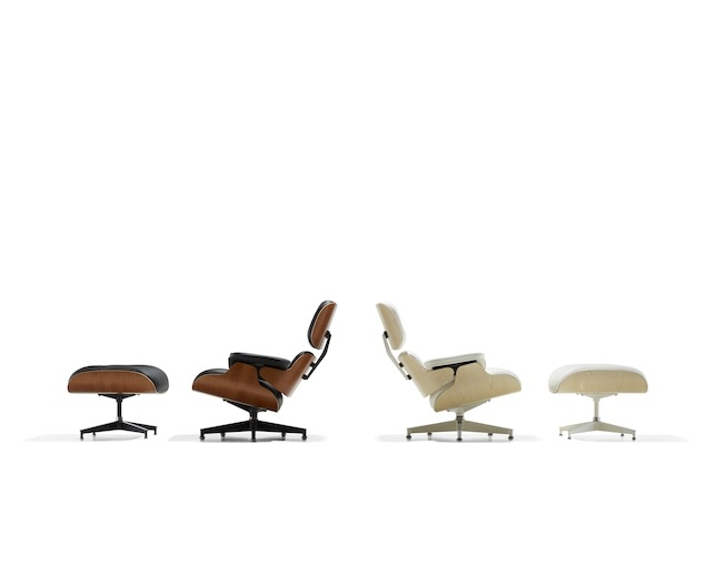 Herman Miller Eames Lounge Chair and Ottoman ホワイトモデルのメイン写真