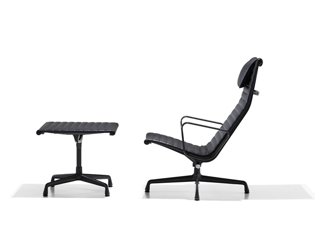 Herman Miller Eames Aluminum Group Lounge Chair ヘッドレスト・チルト機構付の写真