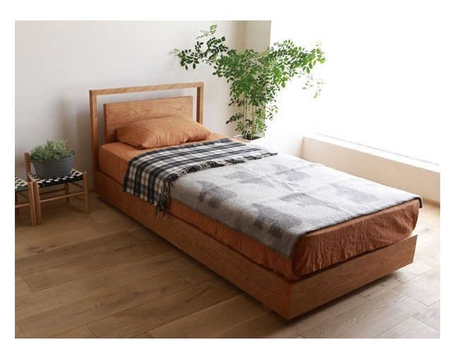 広松木工(ヒロマツモッコウ)のベッド