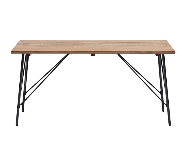 journal standard Furniture CHINON DINING TABLE NATURAL MEDIUMの写真