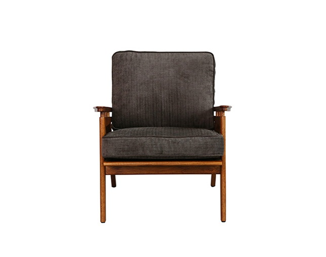 ACME FURNITURE WICKER LOUNGE CHAIR(MB)の写真