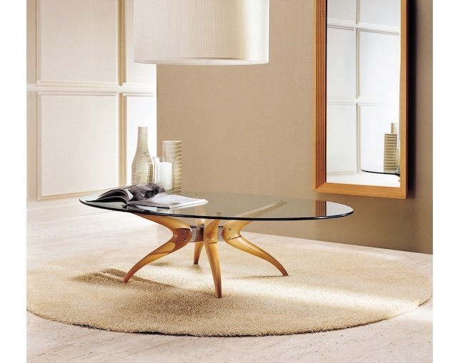 porada DENUO OVAL LIVING TABLEの写真