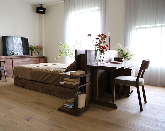 HIRASHIMA(ヒラシマ)のベッド
