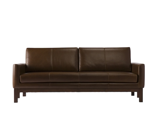 a.flat Leather sofa v02 2.5Pの写真