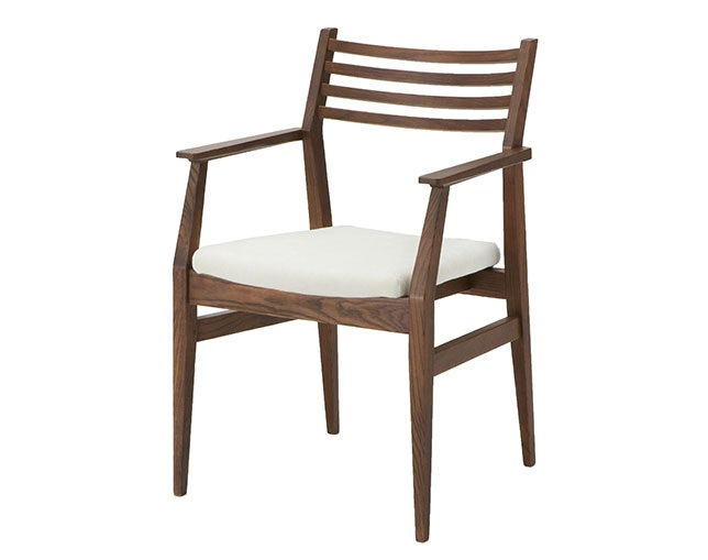 a.flat Wood arm chair v03(GB)のメイン写真