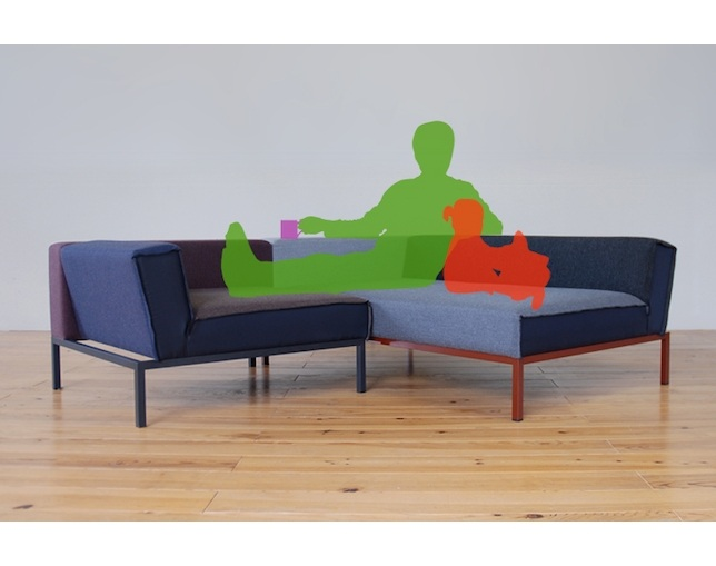 Airconditioned KARATE CHOP SOFA SET MIXED UP(1P+2P)のメイン写真