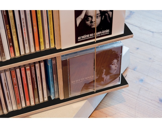 Nils Holger Moormann MUSICSTABLER Ratational CD Shelfのメイン写真