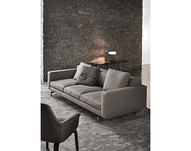Minotti SHERMAN.93 LOW BACK W219のメイン写真