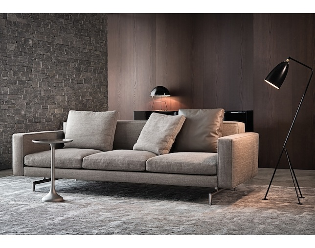 Minotti SHERMAN.93 LOW BACK クッション W58の写真