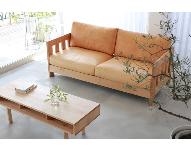 サーブ(SERVE) Wood frame sofa type 05のメイン写真
