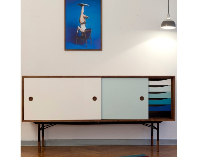 Onecollection Sideboard with Tray Unit(引出しあり)の写真