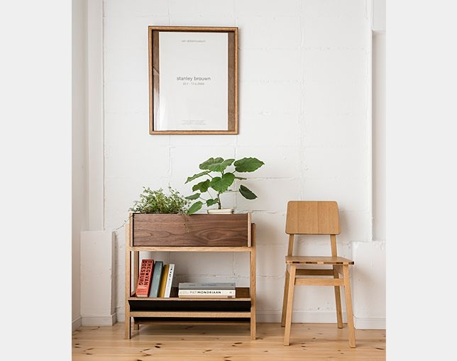 フランジ(FLANGE) PLANTER BOOKSHELFの写真