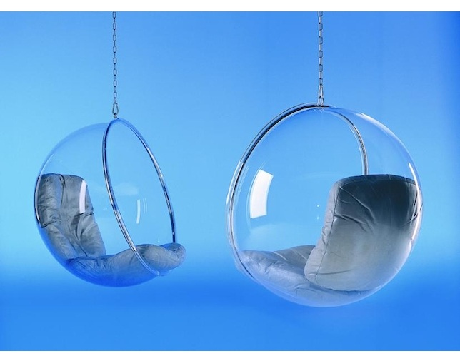 ADELTA BUBBLE CHAIRの写真