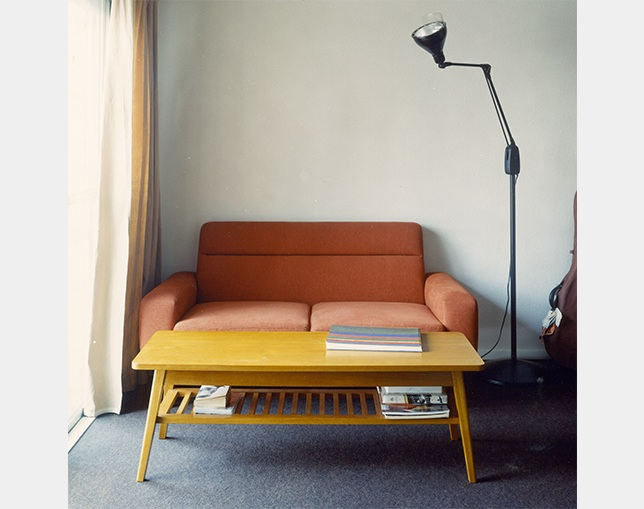 PACIFIC FURNITURE SERVICE DH TEA TABLE シェルフ付 S / Lのメイン写真