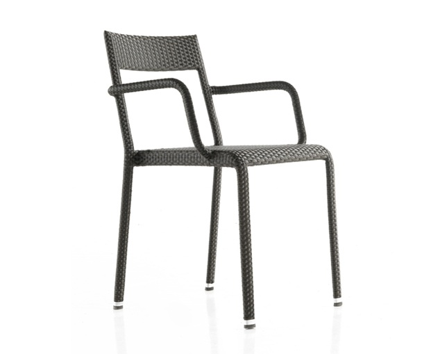 EXPORMIM Dining armchair 'Easy Chairs' synthetic fiberの写真