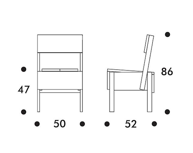 sedia 1 chair セディア チェア タブルーム