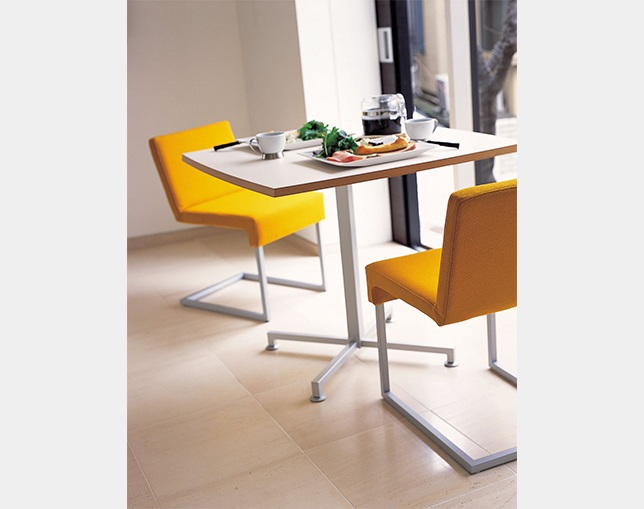 AIDEC MODERN Table WOOF-SQの写真