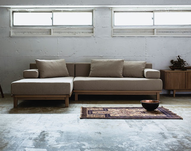 SIEVE(シーヴ) rect.unit sofa wideの写真