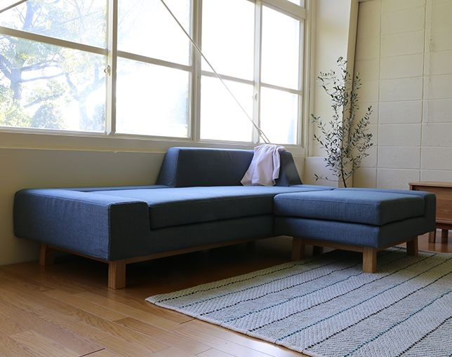 SIEVE(シーヴ) shift sofa ottomanの写真