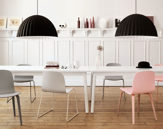 muuto VISU CHAIR Wire baseのメイン写真