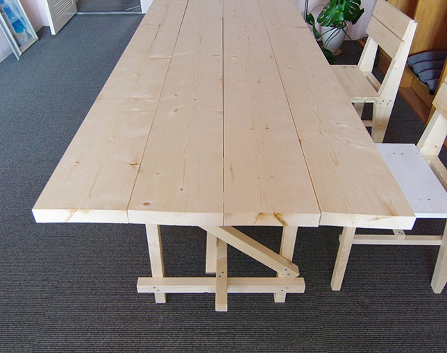 MaKeT 102 PLANK TOP TABLE 1200 / 1500 / M / Lのメイン写真