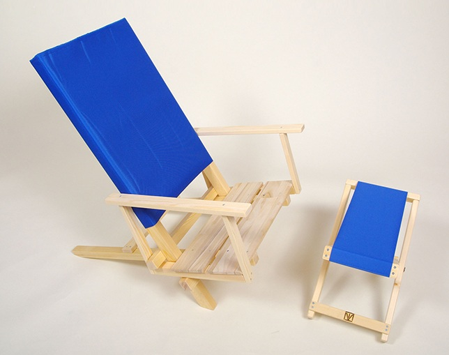 MaKeT 201 FOLDING EASY CHAIRの写真