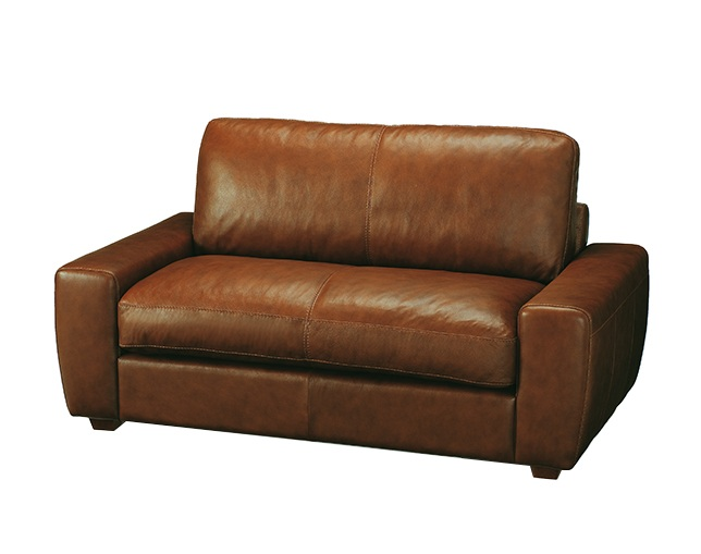 unico TERRA Leather sofa 2 seaterの写真