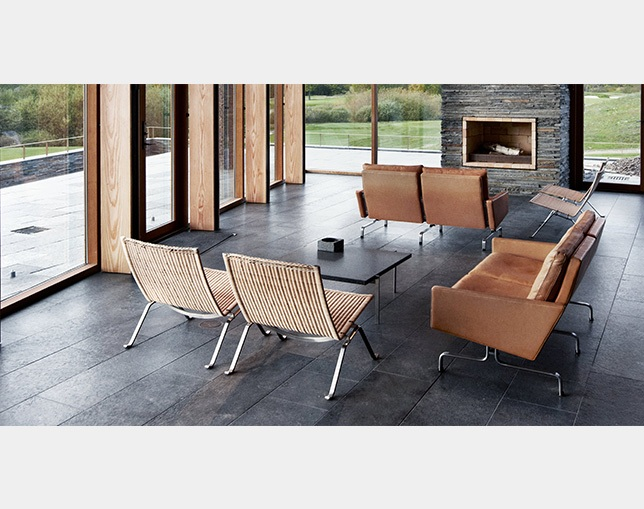 Fritz Hansen PK22(Wicker)のメイン写真