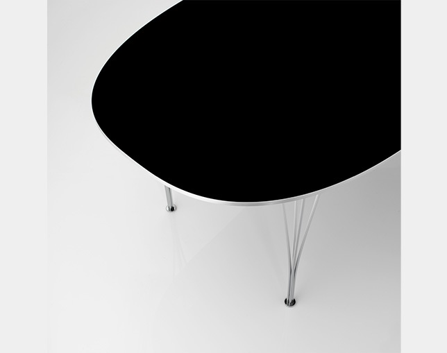 Fritz Hansen TABLE SERIES SPANLEGS(Super-elliptical)のメイン写真