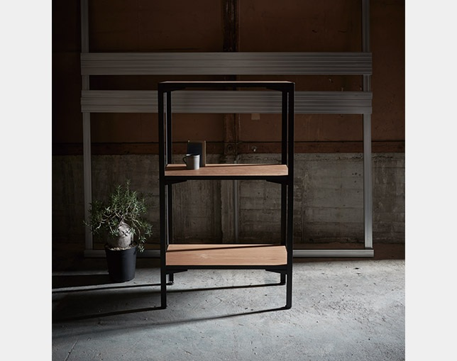 INDUSTRIAL DESIGN CHESTER shelf 91×157の写真