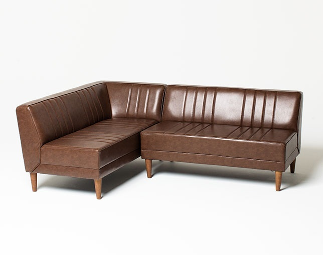 niko and ... FURNITURE & SUPPLY CLASSIC DINER BENCH SOFAの写真