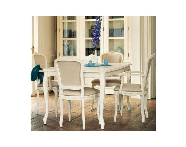 LAURA ASHLEY Provencale upholstered dining chairの写真