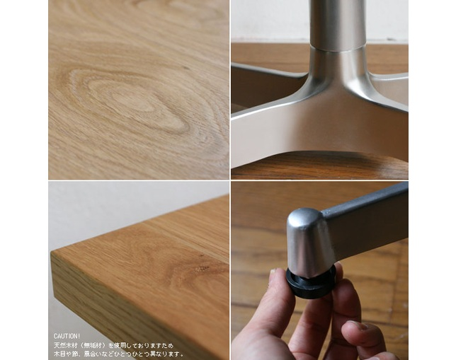 グリニッチ(greeniche) greeniche original table (OAK) w900×d700.の写真