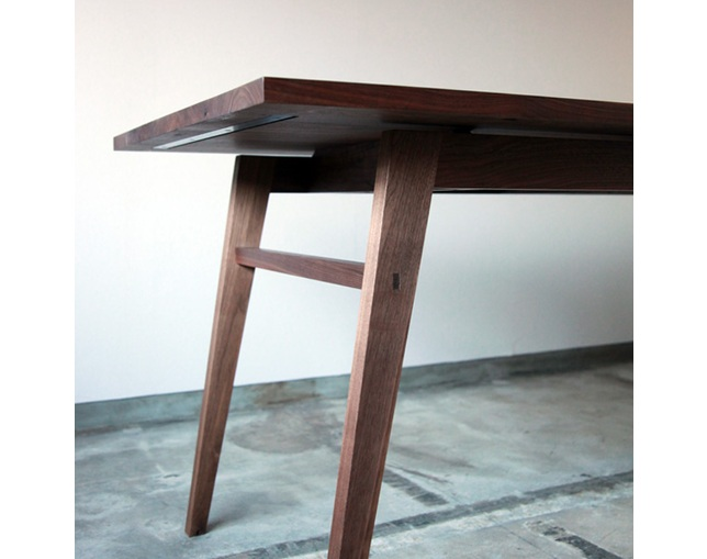 greeniche Work Table - wedge -の写真