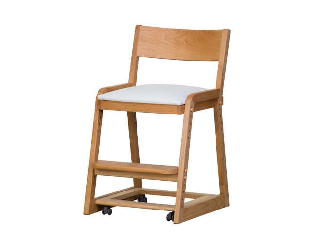 ISSEIKI COCORO-3 DESK CHAIR (NA+WH)の写真