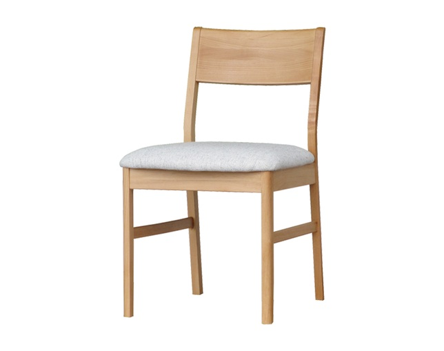 ISSEIKI(イッセイキ) ERIS DINING CHAIR LB-01 (NA+BE)の写真
