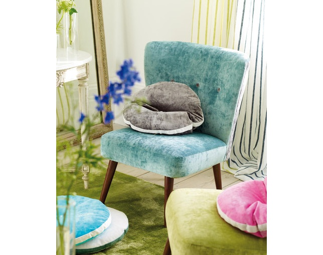 DESIGNERS GUILD JULEP Chair Lowの写真