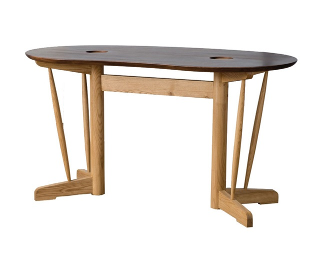 D VECTOR PROJECT KOZUE DINING TABLE 135 -ROUNDのメイン写真