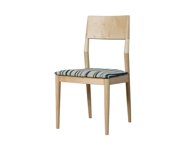 D VECTOR PROJECT FACILE DINING CHAIR STRIPEの写真