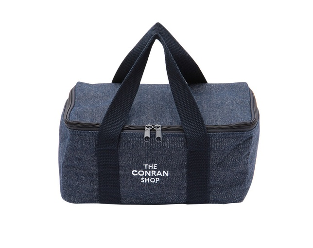 ザ・コンランショップ(THE CONRAN SHOP) ORIGINAL DENIM COOLER BAG SMALLの写真