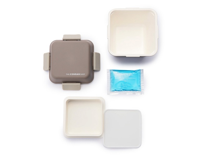 ザ・コンランショップ(THE CONRAN SHOP) ORIGINAL LUNCH BOX SQUARE W.GREYの写真