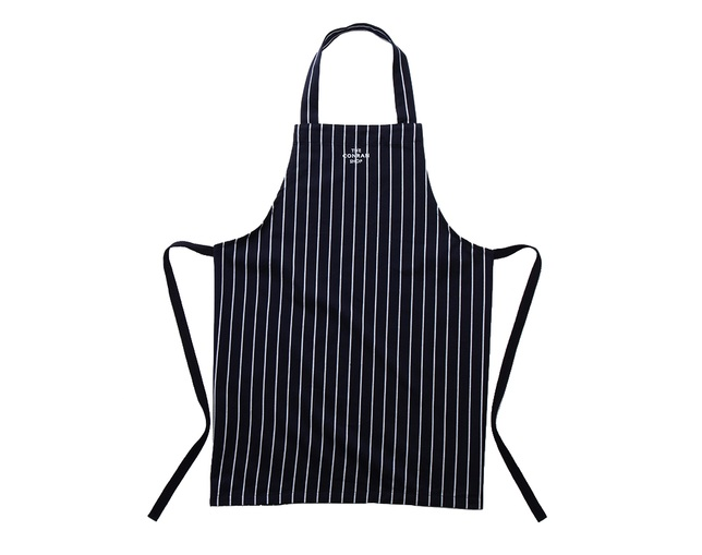 ザ・コンランショップ(THE CONRAN SHOP) BUTCHER STRIPE APRON NAVYの写真
