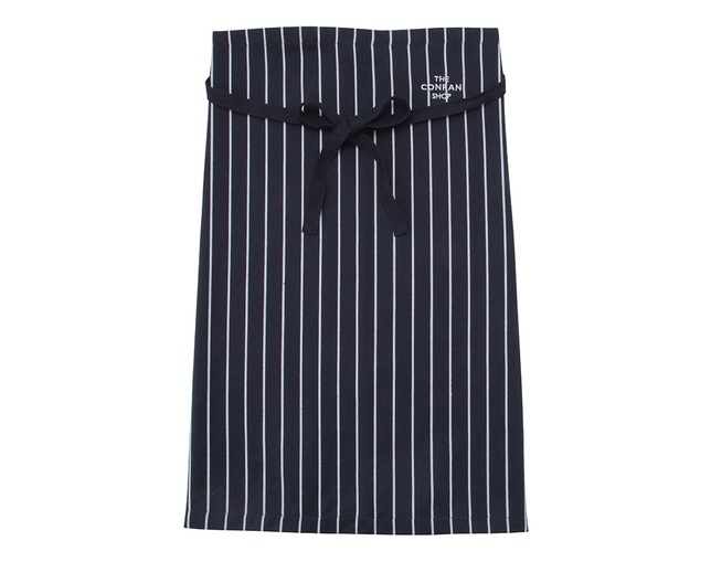 ザ・コンランショップ(THE CONRAN SHOP) BUTCHER STRIPE WAIST APRON NAVYの写真