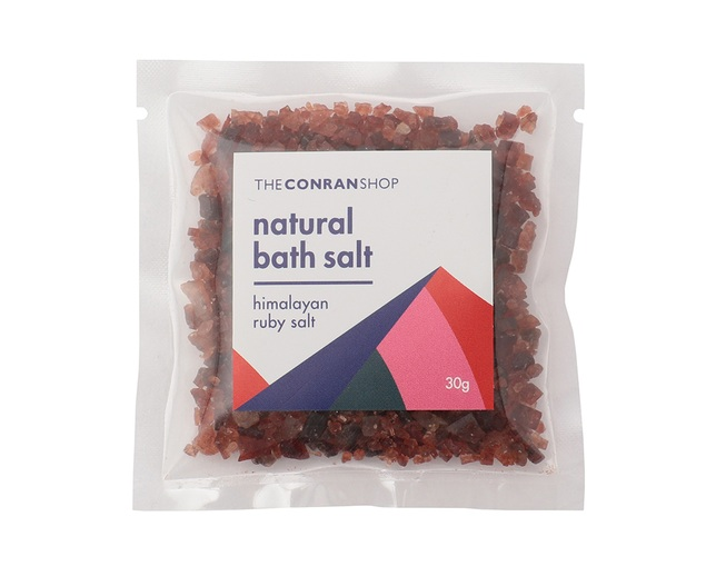 ザ・コンランショップ(THE CONRAN SHOP) NATURAL BATH SALT 30G RUBYの写真