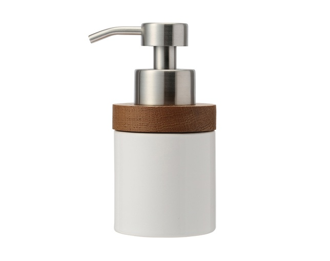 ザ・コンランショップ(THE CONRAN SHOP) OAK CERAMIC SOAP DISPENSER BUBBLEの写真