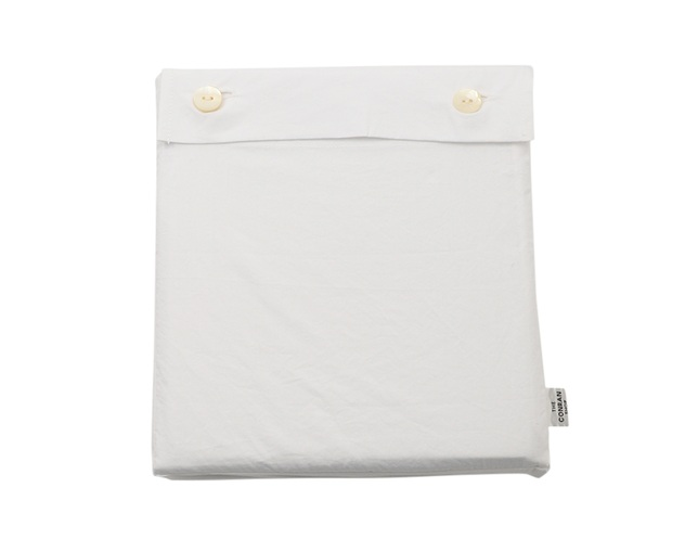ザ・コンランショップ(THE CONRAN SHOP) COTTON STONEWASH DUVET COVER S WHの写真