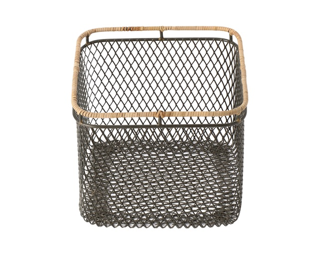 ザ・コンランショップ(THE CONRAN SHOP) WIRE BASKET NATURAL LIM Sの写真