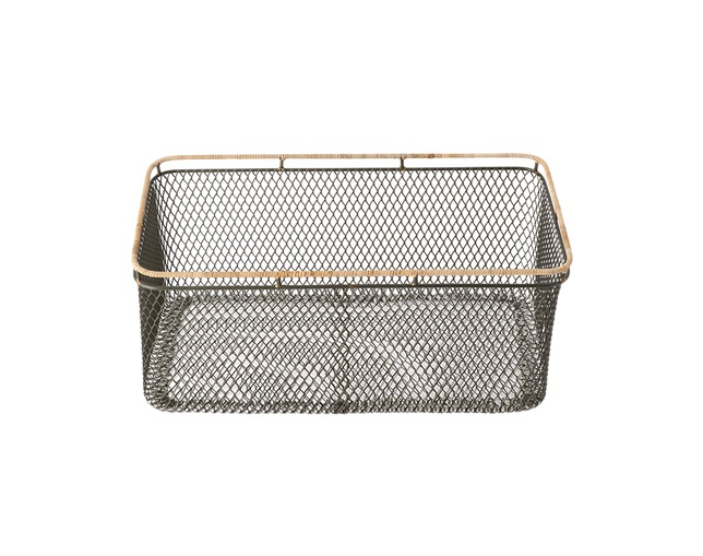 ザ・コンランショップ(THE CONRAN SHOP) WIRE BASKET NATURAL LIM Lの写真
